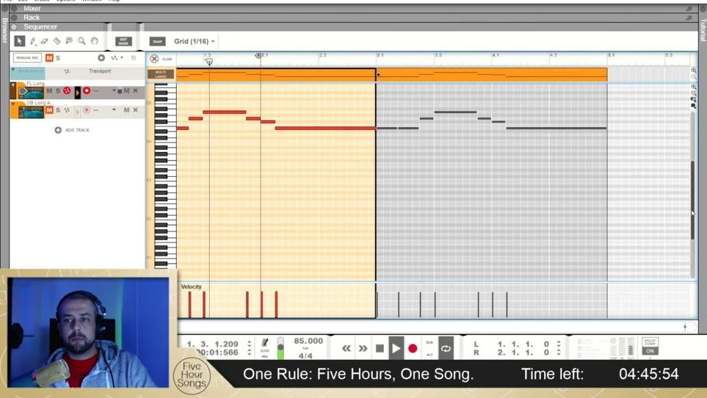 Making of.. Rollercoaster in E Minor